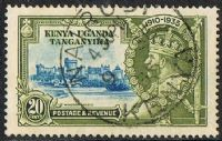 Kenya, Uganda and Tanganyika SG124 1935 Jubilee 20c good/fine used